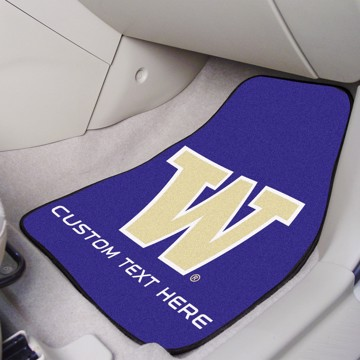 Picture of Washington Personalized Carpet Car Mat Set