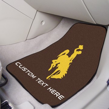 Picture of Wyoming Personalized Carpet Car Mat Set