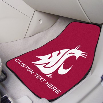 Picture of Washington State Personalized Carpet Car Mat Set