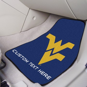 Picture of West Virginia Personalized Carpet Car Mat Set