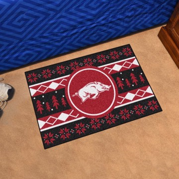 Picture of Arkansas Starter Holiday Sweater Starter Rug
