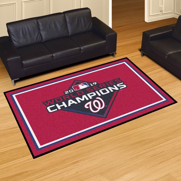 Picture of MLB - Washington Nationals 2019 World Series Champions 5x8 Plush Rug