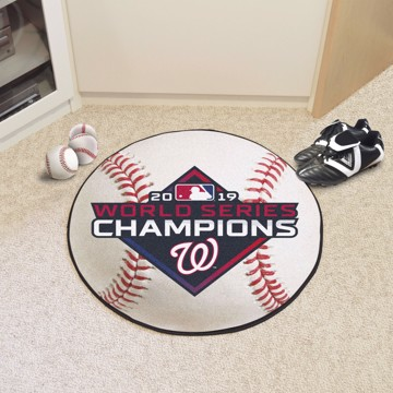 Picture of MLB - Washington Nationals 2019 World Series Champions Baseball Mat