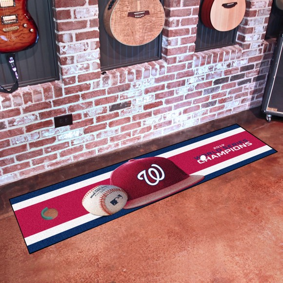 Picture of MLB - Washington Nationals 2019 World Series Champions Putting Green Mat