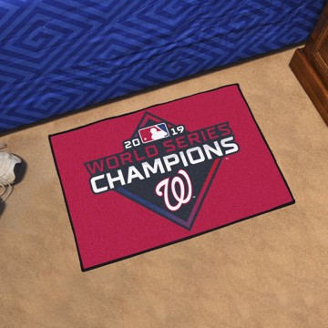 Picture of MLB - Washington Nationals 2019 World Series Champions Starter Mat