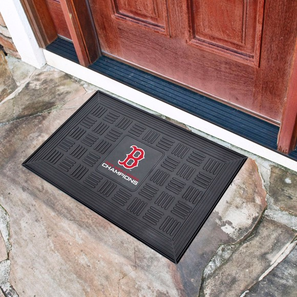 Picture of MLB - Boston Red Sox 2018 World Series Champions Vinyl Door Mat