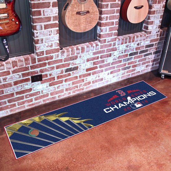 Picture of MLB - Boston Red Sox 2018 World Series Champions Putting Green Mat