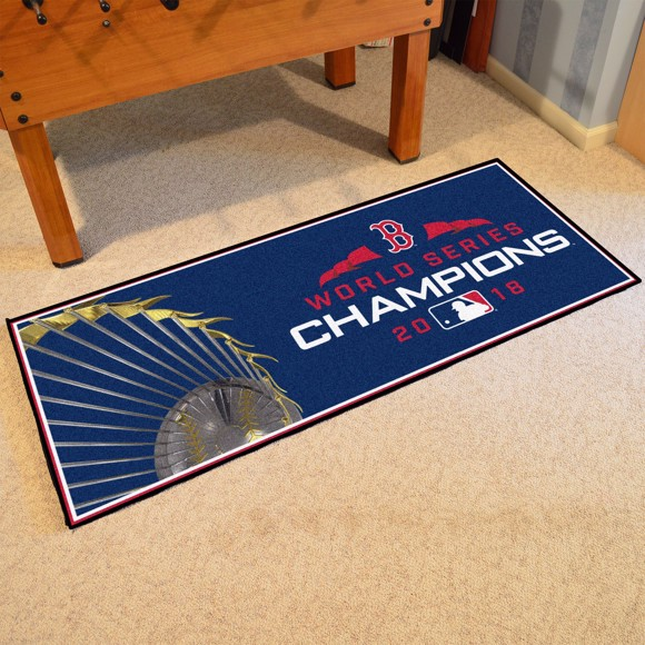 Picture of MLB - Boston Red Sox 2018 World Series Champions Runner