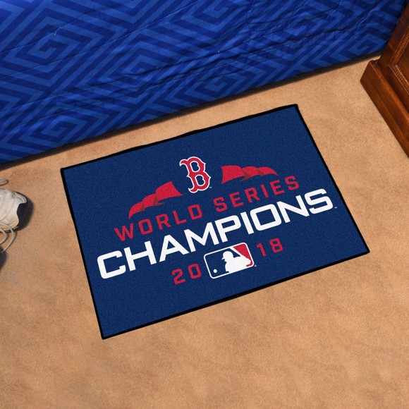 Picture of MLB - Boston Red Sox 2018 World Series Champions Starter Mat