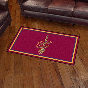 Picture of NBA - Cleveland Cavaliers 3'x5' Plush Rug