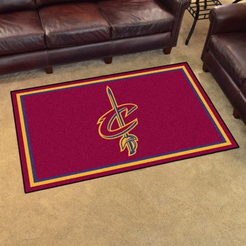 Picture of NBA - Cleveland Cavaliers 4'x6' Plush Rug