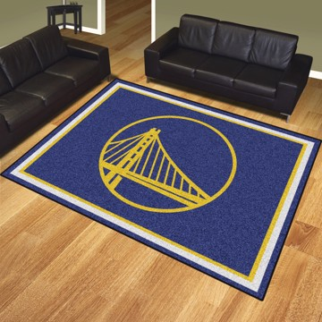 Picture of NBA - Golden State Warriors 8'x10' Plush Rug