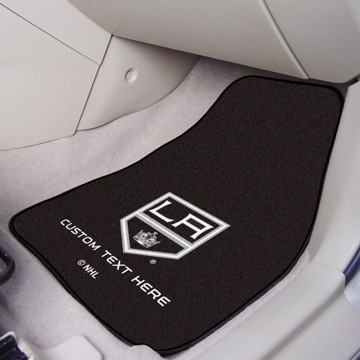 Picture of NHL - Los Angeles Kings Personalized Carpet Car Mat Set