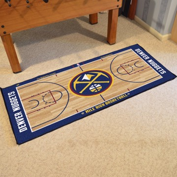 Picture of NBA - Denver Nuggets NBA Court Large Runner
