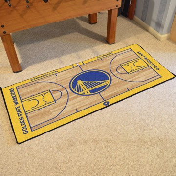 Picture of NBA - Golden State Warriors NBA Court Large Runner