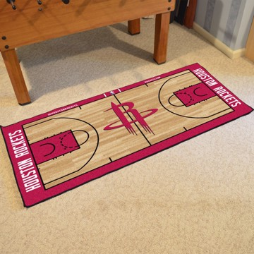 Picture of NBA - Houston Rockets NBA Court Large Runner