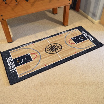 Picture of NBA - Los Angeles Clippers NBA Court Large Runner