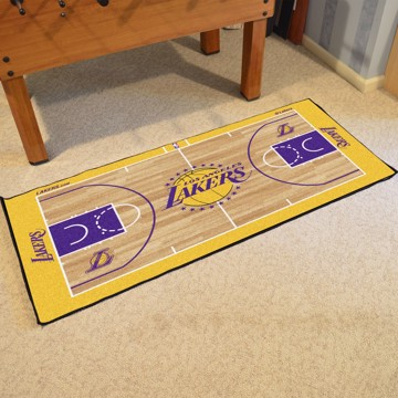 Picture of NBA - Los Angeles Lakers NBA Court Large Runner