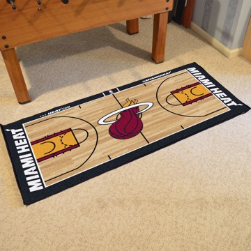 Picture of NBA - Miami Heat NBA Court Large Runner