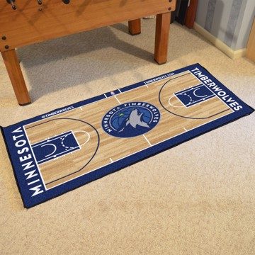 Picture of NBA - Minnesota Timberwolves NBA Court Large Runner