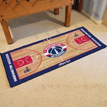 Picture of NBA - Washington Wizards NBA Court Large Runner