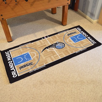 Picture of NBA - Orlando Magic NBA Court Large Runner