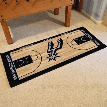 Picture of NBA - San Antonio Spurs NBA Court Large Runner