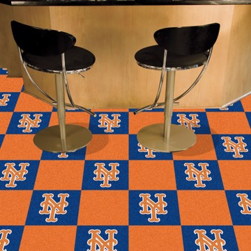 Picture of MLB - New York Mets Team Carpet Tiles