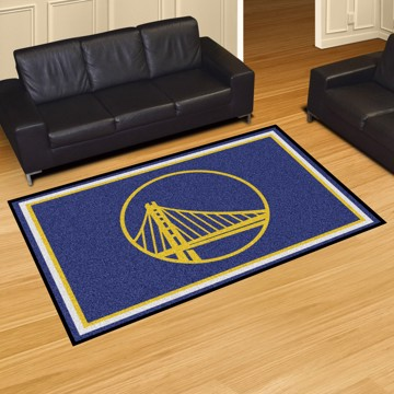Picture of NBA - Golden State Warriors 5'x8' Plush Rug