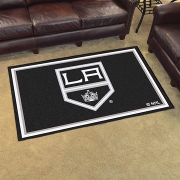 Picture of NHL - Los Angeles Kings 4'x6' Plush Rug
