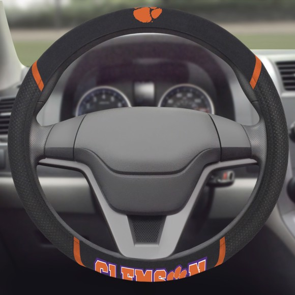 Picture of Clemson Steering Wheel Cover