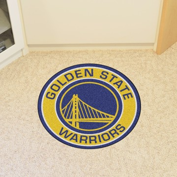 Picture of NBA - Golden State Warriors Roundel Mat