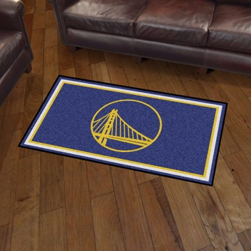 Picture of NBA - Golden State Warriors 3'x5' Plush Rug