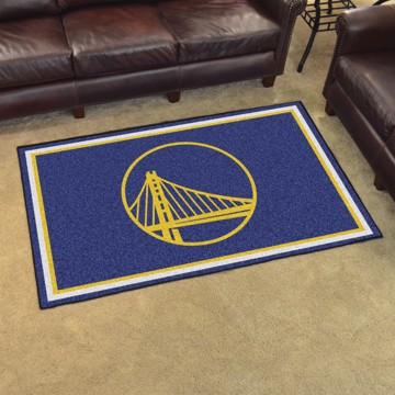 Picture of NBA - Golden State Warriors 4'x6' Plush Rug