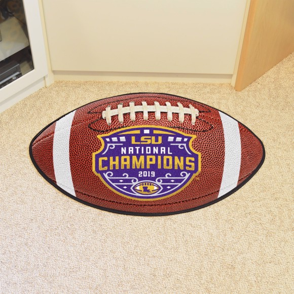 Picture of LSU Tigers 2019-20 College Football National Championship Football Mat