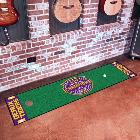 Picture of LSU Tigers 2019-20 National Championship Putting Green Mat