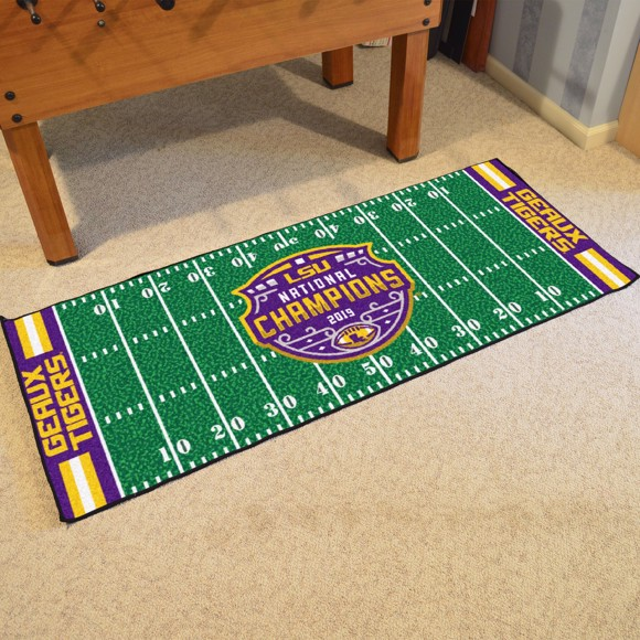 Picture of LSU Tigers 2019-20 National Championship Football Field Runner