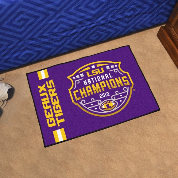Picture of LSU Tigers 2019-20 National Championship Starter Mat