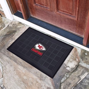Picture of NFL - Kansas City Chiefs Super Bowl LIV Champions Vinyl Door Mat