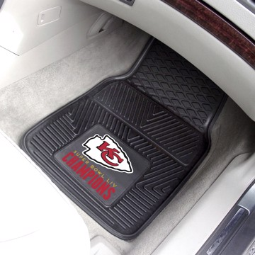 Picture of NFL - Kansas City Chiefs Super Bowl LIV Champions Vinyl Car Mat Set