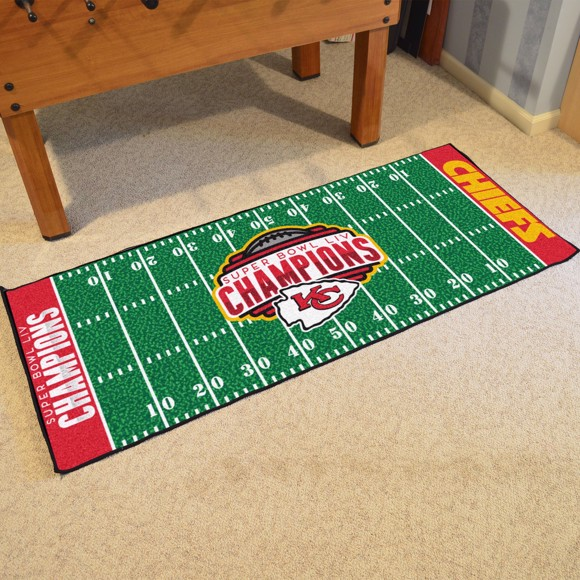 Picture of NFL - Kansas City Chiefs Super Bowl LIV Champions Football Field Runner