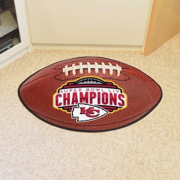 Picture of NFL - Kansas City Chiefs Super Bowl LIV Champions Football Mat