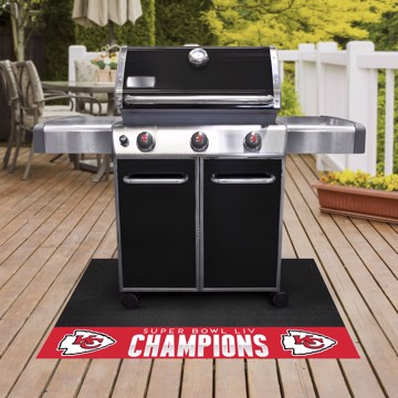 Picture of NFL - Kansas City Chiefs Super Bowl LIV Champions Grill Mat