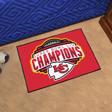 Picture of NFL - Kansas City Chiefs Super Bowl LIV Champions Starter Mat