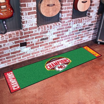 Picture of NFL - Kansas City Chiefs Super Bowl LIV Champions Putting Green Mat