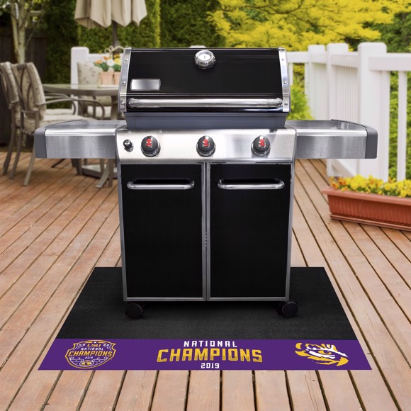 Picture of LSU Tigers 2019-20 National Championship Grill Mat