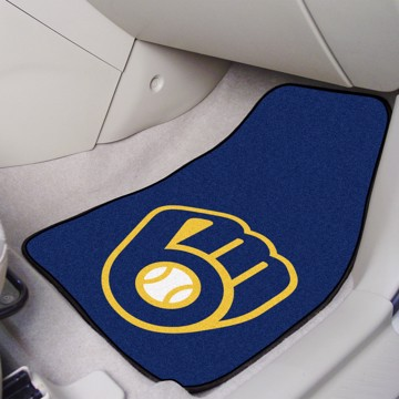 Picture of MLB - Milwaukee Brewers Carpet Car Mat Set