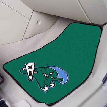 Picture of Tulane Carpet Car Mat Set