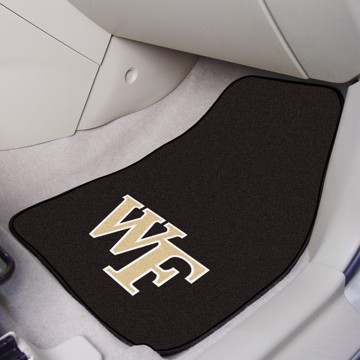 Picture of Wake Forest Carpet Car Mat Set