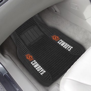 Picture of Oklahoma State Deluxe Car Mat Set